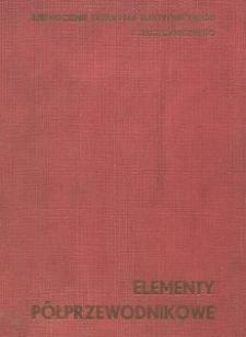 Elementy półprzewodnikowe
