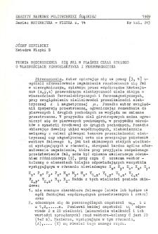 Teoria rozchodzenia się fal w plaźmie ciała stałego o własnościach ferroelektryka i ferromagnetyka