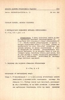 Problematyka badań naukowych Katedry Matematyki Stosowanej