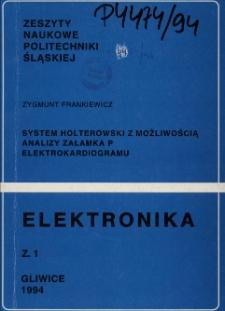 System holterowski z możliwością analizy załamka P elektrokardiogramu