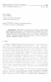Metoda 230Th/234U datowania osadów węglanowych j jej rola w geologii czwartorzędu