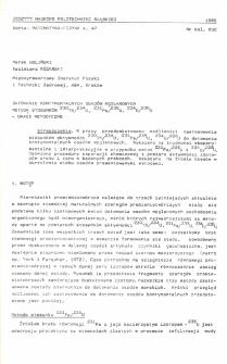 Datowanie kontynentalnych osadów węglanowych metodą stosunków 230Th/234U, 231Pa/235U, 234U/238U - uwagi metodyczne
