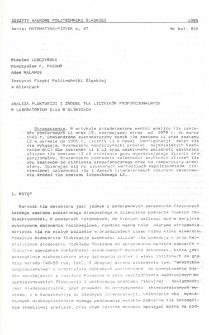 Analiza fluktuacji i źródeł tła liczników proporcjonalnych w Laboratorium C-14 w Gliwicach