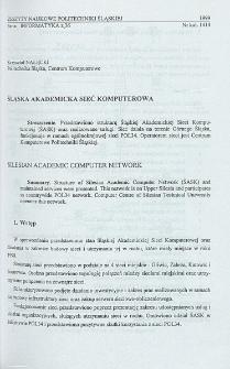 Śląska Akademicka Sieć Komputerowa
