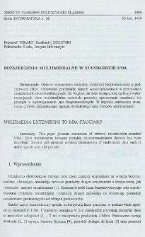 Rozszerzenia multimedialne w standardzie IrDA