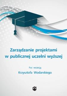 Zarządzanie projektami w publicznej uczelni wyższej