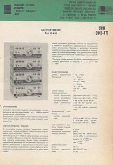 Generatory pomiarowe