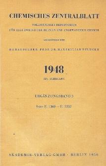 Chemisches Zentralblatt : vollständiges Repertorium für alle Zweige der reinen und angewandten Chemie, Jg. 119, Erg.-Bd. 3, Nr. 9