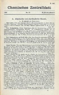 Chemisches Zentralblatt : vollständiges Repertorium für alle Zweige der reinen und angewandten Chemie, Jg. 119, Erg.-Bd. 3, Nr. 12