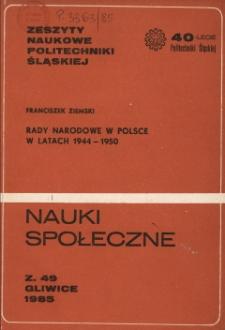 Rady Narodowe w Polsce w latach 1944-1950