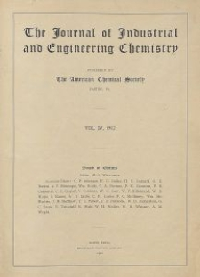 The Journal of Industrial and Engineering Chemistry, Vol. 5, No. 1