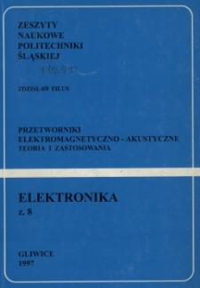 Przetworniki elektromagnetyczno-akustyczne : teoria i zastosowania