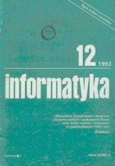 Informatyka Nr 12