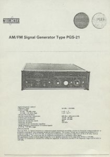 AM/FM Signal Generator