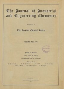 The Journal of Industrial and Engineering Chemistry, Vol. 13, No. 8