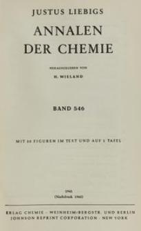 Justus Liebigs Annalen der Chemie. Band 546